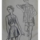 Advance #5243 Sz 20 Woman's Bra/Jacket Shorty PJs Pattern
