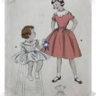Butterick #7185 Childs Sz 8 Lace Yoke Dress Pattern