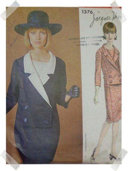 Vogue Paris Originals #1376 Jacques Heim Pattern