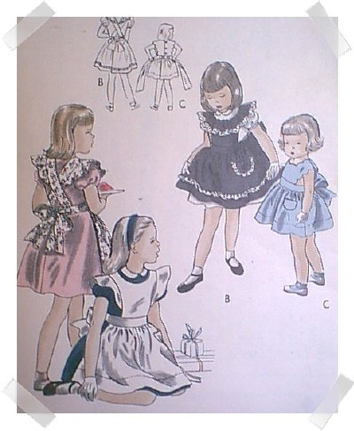 Vintage Vogue size 2 Alice in Wonderland Dress Pattern