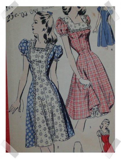 Hollywood #1813 Sz 12 Misses/Ladies Dress/Petticoat Pattern