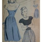 Hollywood #1811 Vintage Misses / Ladies Sz 12 Dress Pattern