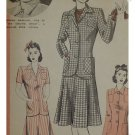 Hollywood #721 Brenda Marshall Vintage Misses / Ladies Skirt/Jacket Pattern