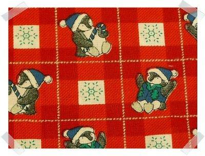 Concord Fabrics ~ Xmas Penguins 2 YARDS