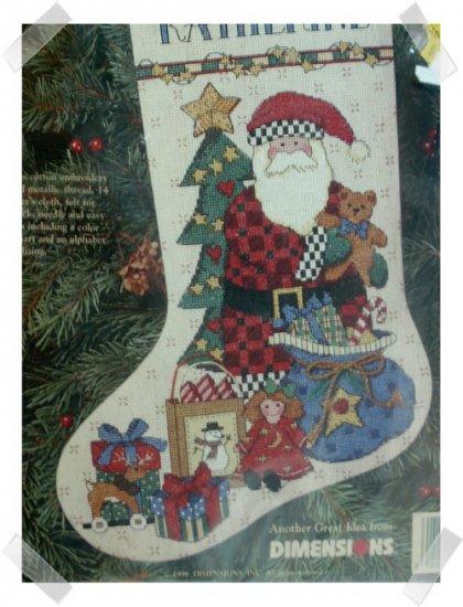 Debbie Mumm Counted Cross Stitch Stocking Kit