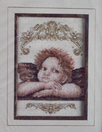 True Colors Cross Stitch Kit ~ Raphaels Cherubs