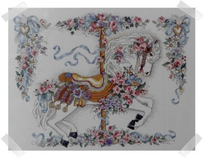 Dimensions Charts & Charms ~ BEJEWELED PRANCE