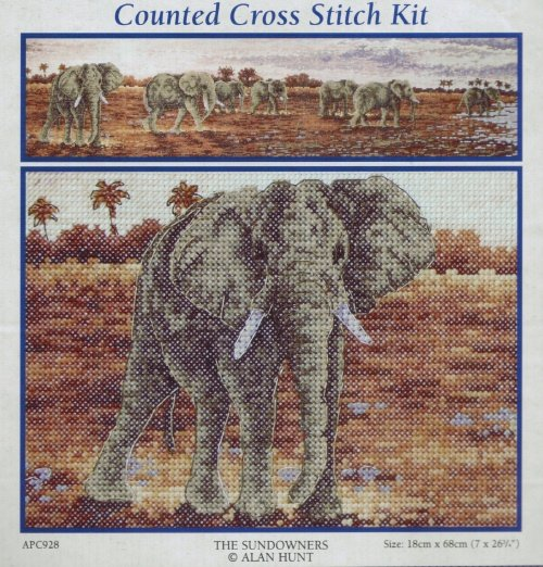 Anchor Counted Cross Stitch Kit ~ The Sundowners