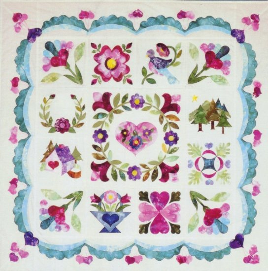 Hello Baltimore 45 inch Square Quilt Pattern