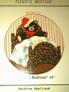 Teddy~s Bedtime Quilt / Applique Pattern