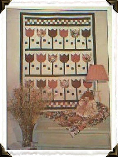 Debbie Mumms Springtime Tulips Quilt Pattern