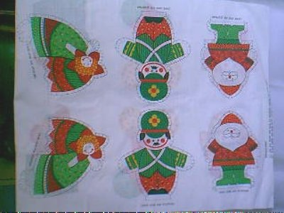 Spring Mills Quick Cutables ~ Christmas Cutou