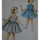 Simplicity #1108 Girls Sz 5 Dress c.1950