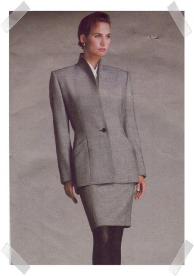 Vogue #2002 CALVIN KLEIN Suit Pattern Size 6