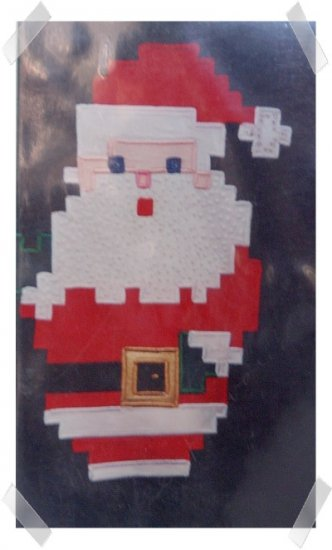 Quilt Pattern ~ BEADED BEARDED SANTA