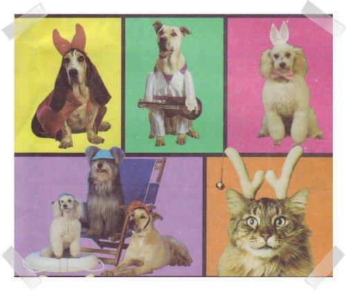 McCalls #7402 Dog Costumes Pattern - Sm Med & Lg