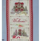 Bucilla Counted Cross Stitch CHRISTMAS WELCOME Kit