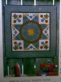 Applique Quilt Pattern ~ Little Golden Oldies