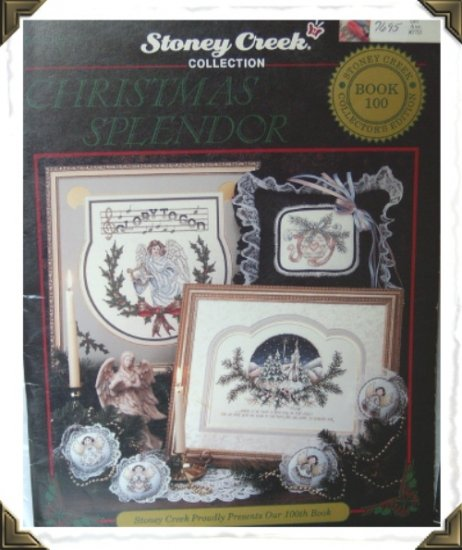 Counted Cross Stitch Book ~ Christmas Splendor