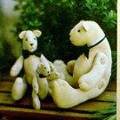 Jointed Bear Pattern ~ ARTIE ON THE TOWN