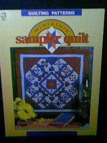 Miniature Sampler Quilt Pattern Book