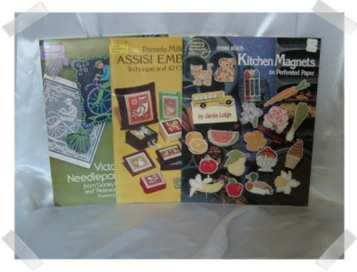 Assisi Godey & Magnets Needlepoint Books