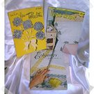 Vintage Crochet Tablecloth & Edgings Booklets c.1948-52