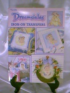 Liesure Arts DREAMSICLES Hot Iron On Transfer Book