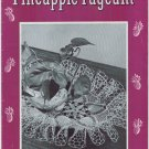 J&P Coats #252  Vintage 1940s Crochet Book  ~ PINAPPLE PAGEANT Ruffled Doilies
