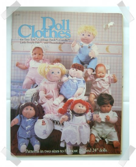 Doll Clothes Pattern ~ Cabbage Patch / Thumbelina