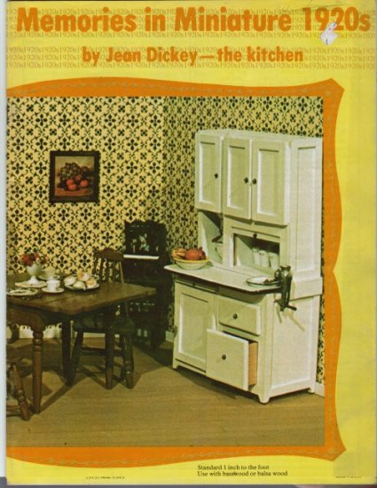 Memories in Miniature 1920s Kitchen by Jean Dickey