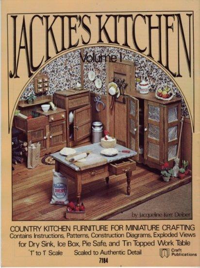 Jackies Kitchen Vol I by Jacqueline Kerr Deiber