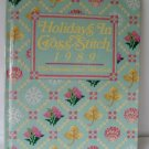 Holidays In Cross Stitch Book 1989 the Vanessa Ann Collection