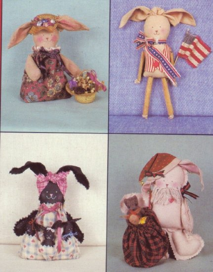 My Sister & I Patterns ~ Bunch O Bunnies