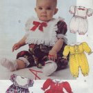 McCalls #5101 Babys Dress, Jumpsuit, Sunsuit Pattern Sz Sm (15 - 20 lbs)