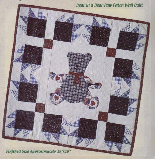 Quilt Sensations Quilt Kit ~ Bear Paw Patch