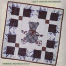 Quilt Sensations Quilt Kit ~ Bear Paw Patch