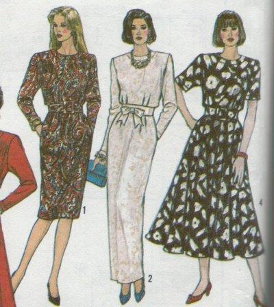 Simplicity #9900 Shirt Waist Style Dress Pattern Sz 12 to 18