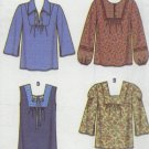 Simplicity # 5552 Woman's Peasant Blouse Pattern Sz 6  - 8 - 10 - 12