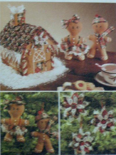 McCalls #7773 A GINGERBREAD Christmas Pattern