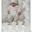 McCalls #7367 Baby Layette Pattern Size Small (13-15 lbs)