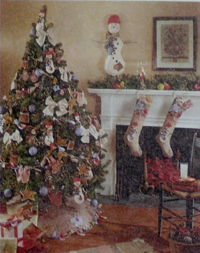 McCalls #7285 LET IT SNOW Christmas Pattern
