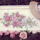 Sunset Stichery Kit ~ American Heritage Cross Stitch Kit of Beautiful Roses