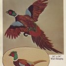 Cardin Originals ~ Wild Pheasant Quilted Wall Hanging Pattern