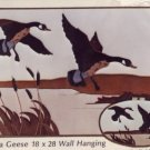 Cardin Originals ~ Canada Geese Quilted Wall Hanging
