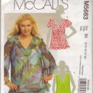 McCalls M5663 Womans Pullover Top Sz 8-10-12-14-16