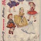 "Simplicity #3729 19"" Doll Wardrobe Pattern"