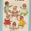 "Simplicity 9508 Sz 15-17"" Baby Doll Wardrobe Pattern"