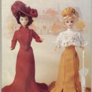 Butterick 6374 Historic Barbie Doll Dress Pattern ~ Gibson Girl Style /  Delineator Style