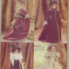 Vogue 9759 Historic Barbie Doll Pattern ~ 4 Styles Representing 1700 - 1800's